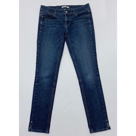 White House Black Market Denim - WHBM Noir Skinny Jeans Medium Wash 29 waist size 2